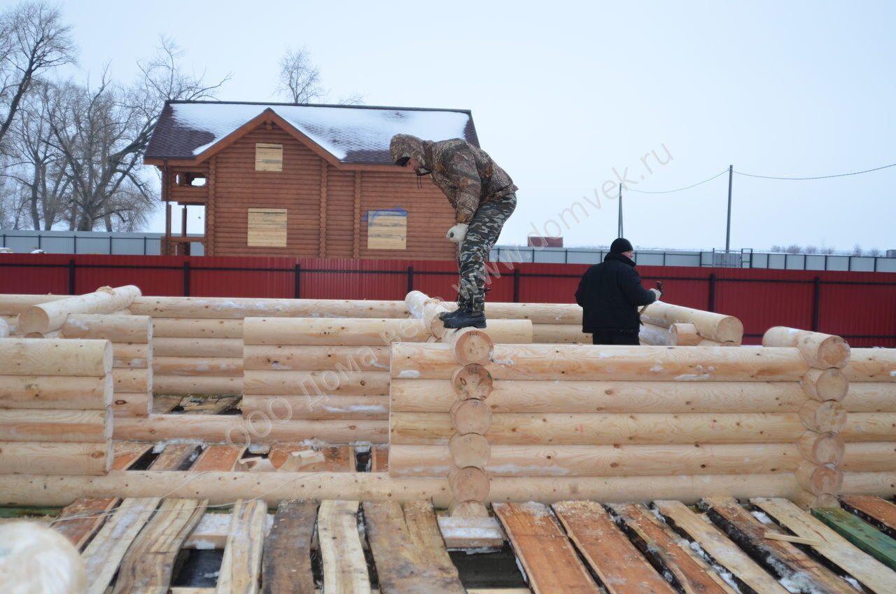 технологии сборки деревянного дома